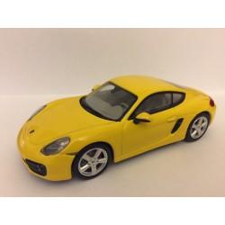 PORSCHE CAYMAN S (jaune)
