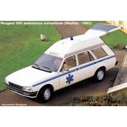 PEUGEOT 505 Ambulance Heuliez (1983)