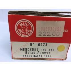 Mercedes 190 6x6 Paris-Dakar (1986)