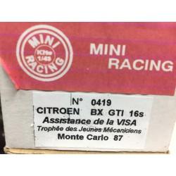 CITROËN BX GTI 16S Assistance RMC87