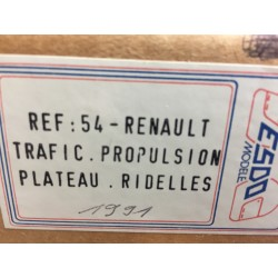 RENAULT Trafic Plateau Ridelles